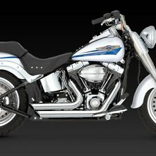 1986-2011 HARLEY SOFTAIL Shortshots Full Exhaust System (VANCE AND HINES 17221)