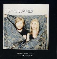Georgie James- Places CD ADVANCE FREE SHIPPING