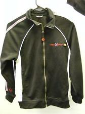 boys youth ZEROXPOSUR ZIP UP jacket track running size small or med very clean