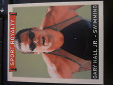 2008 Upper Deck Goudey Sport Royalty #292 Gary Hall Jr. Swimming Mini RED Back