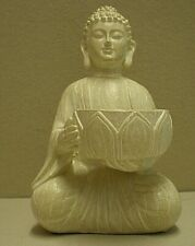 Seated Buddha Incense / Tea Light Holder (ref cab)