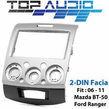 Ford Ranger PJ PK Mazda BT50 BT-50 car radio Double 2 DIN FACIA KIT fascia dash