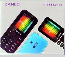 BRAND NEW Zanco Amo 101 Dual SIM Mobile Phone Black GENUINE colour screen unlock