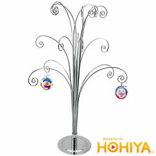 """20"""" Silver Metal ORNAMENT DISPLAY TREE STAND Easter Spring Party Home Decor"""