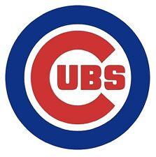 12 STICKERS Chicago Cubs  MLB Baseball Vinyl Car Bumper Window laptop wall Decal