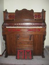 Vintage antique pump organ - mfg. Foley of Chicago -1897 - plays!