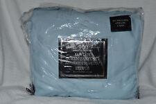 Luxury Sateen 900TC Somerset Collection Blue Queen Sheet Set NOP