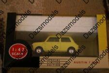 Vanguards Austin 7 Mini Catalogue Mini Yellow VA13005