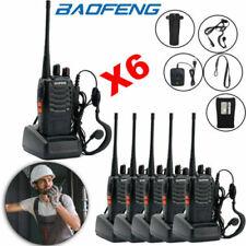 6X Baofeng BF-888S 400-470MHz Two-way Radio Walkie Talkie 1500mAh Long Range lot