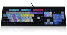 Logickeyboard Spezialtastatur für Grass Valley EDIUS (USB, Alu-Look, LED)