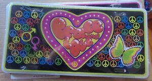 Placa Publicidad de Metal - Tema Peace And Love / Nueva Blister