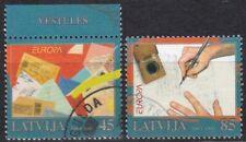 Latvia Europa 2008 Used stamps Full set