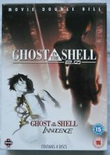 """""""Ghost In The Shell / Innocence"""" Double Bill Movie Box 4 DVD Set"""