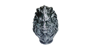 Ultra Quality 3D Printed Lion Bust Sculpture Collectable Figurine Decor Ornament
