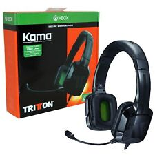 TRITTON KAMA 3.5MM STEREO HEADSET Black XBOX ONE & Nintendo Switch NEW & SEALED