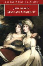 Austen, Jane, Sense and Sensibility (World's Classics), Very Good Book