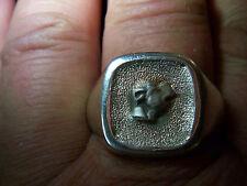 WMM-Werner-Müller-Mannheim-Hund-American-Staffordshire-Ring-935-Silber-Bully