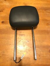 10-16 GRAND CARAVAN TOWN COUNTRY ACTIVE HEADREST HEAD REST BLACK LEATHER FRONT
