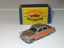 (H) matchbox FORD ZODIAC - 33 SPW with factory error