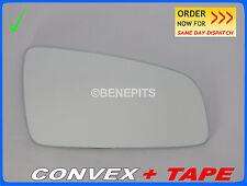 Wing Mirror Glass For OPEL ZAFIRA B 2005-2010 CONVEX + TAPE Right Side #F026 22
