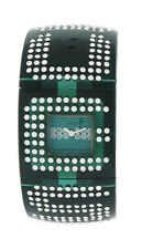 Guess W18534L3 Women's Analog Emerald Green Lucite with Swarovski Crystal Watch