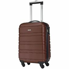 CheckIn Paradise Miami 4 Wheels  Trolley Suitecase  55 cm (dunkelbraun)