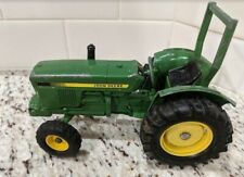 1980's John Deere ERTL Utility Toy Tractor With Roll Bar, 1/16th