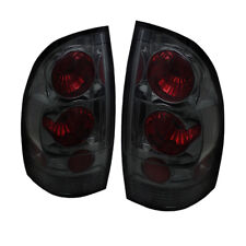 Toyota 05-15 Tacoma Smoke Euro Style Rear Tail Lights Lamp Set SR5 X/Pre-Runner