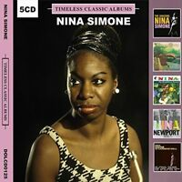 NINA SIMONE TIMELESS CLASSIC ALBUMS NEW SEALED 5CD Gift Idea Best OF Greatest