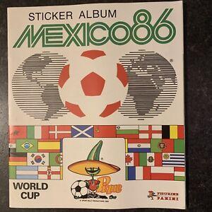 Panini World Cup Mexico 86 - Football Sticker Album. 100% Complete Full Set. VGC