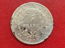 5 Francs Revers Empire 1809 L Bayonne TB II Napoléon Ier - Ier Empire, 1804–1814