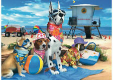 Ravensburger No Dogs on the Beach 100 XXL Piece Jigsaw Puzzle