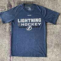 Reebok NHL Tampa Bay Lightning Hockey Shirt Mens Small