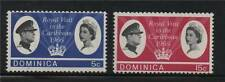 Royalty Dominica Stamps (Pre-1967)