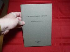The Lincolns in Chicago- Blaine Brooks Gernon, 1934, 1st, Limited Ed. SIGNED