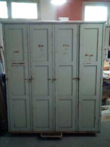 Spind ,Werkstattschrank, Holz. Industriedesing ,Loft ,Vintage,Orginal