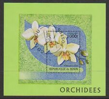 Benin - 1997 Orchids (Flowers) sheet - F/U - SG MS1644