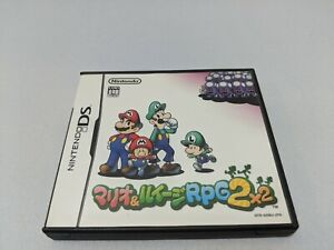 Mario & Luigi: Partners in Time RPG 2x2 DS NDS Japan Import US SELLER