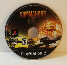 Commandos 2: Men of Courage (Sony PlayStation 2, 2002) disc only