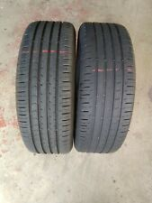 2x 225/60/17 CONTNENTAL CPC5 TYRE 5.8-7mm TESTED 2256018 225 60 18
