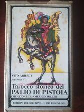 Tarocco storico del palio di Pistoia /edizione del Solleone/ 1985/ by Vito Arien