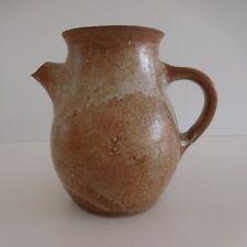 Pichet cruche céramique grès fait main design XXe