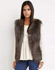 Polyester Casual Solid Vest Coats & Jackets for Women