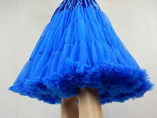 NEW SUPER FLUFFY 2 Layer Vintage 50's Rockabilly Circle Dress PETTICOAT One Size