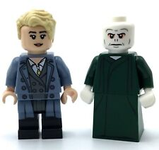 LEGO LOT OF 2 HARRY POTTER MINIFIGURES LORD VOLDEMORT SERIES FIGURES GENUINE