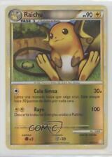 2010 Pokémon HeartGold & SoulSilver Base Set Spanish Reverse Foil #10 Raichu 2f4