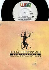 Echo & Bunnymen~Original OZ PS 45 Bring on the dancing horses EX 1985 Newwave
