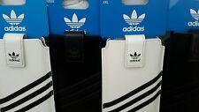 Véritable adidas housse en cuir case xxl universel samsung sony htc iphone blanc