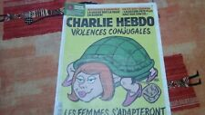 CHARLIE HEBDO 10/07/2019 -No 1407 Couv. RISS -VIOLENCES CONJUGALES -  COMME NEUF