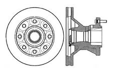 Centric Parts 121.66021 Front Disc Brake Rotor